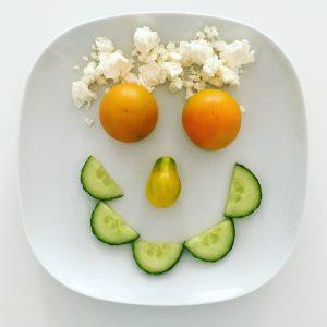 Gemüse Gesicht