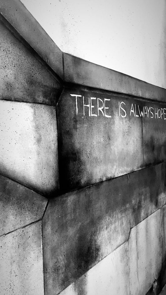 Streetart by Banksy: There is always hope
