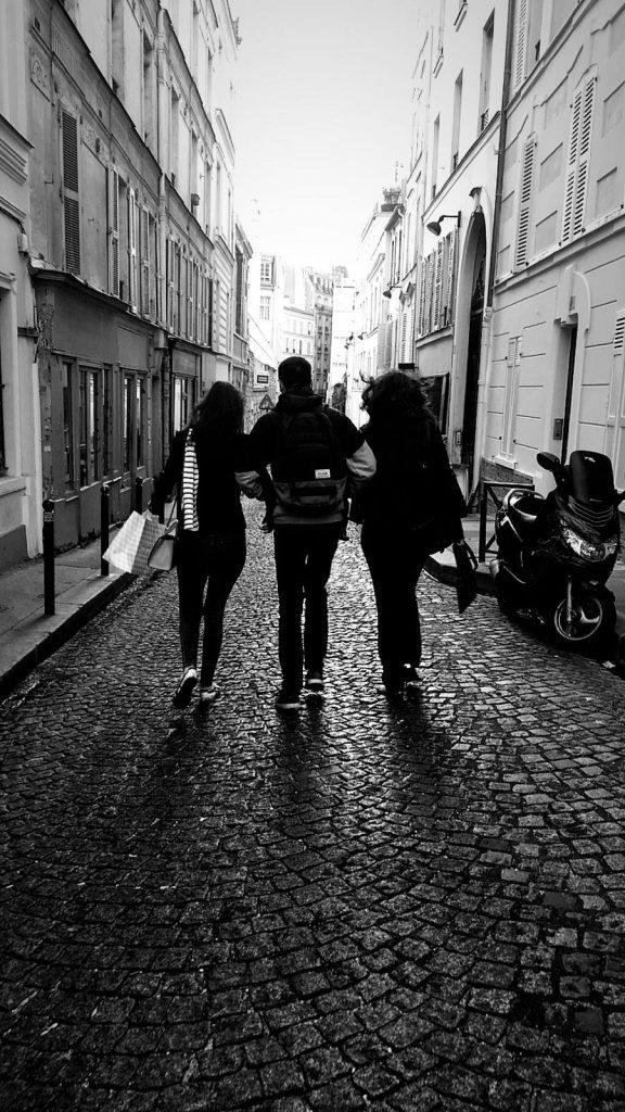 Spazieren in Paris